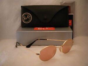 286d8a5502 Ray Ban 3547N Gold w Copper Flash Mirror Lens (RB3547N 001/Z2 51 mm ...
