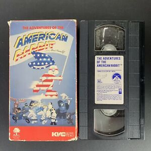 The-Adventures-Of-The-American-Rabbit-Rare-OOP-1986-VHS-Plays-Great