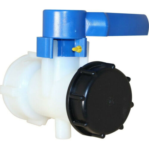 1Pc IBC Standard Tank Replacement Tap Outlet 60mm Cap Valve Water Container Tool