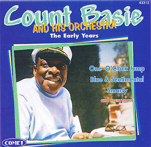 Count-Basie-And-His-Orchestra-034-The-Early-Years-034-CD-Nuevo-amp-EN-PAQUETE-ORIGINAL
