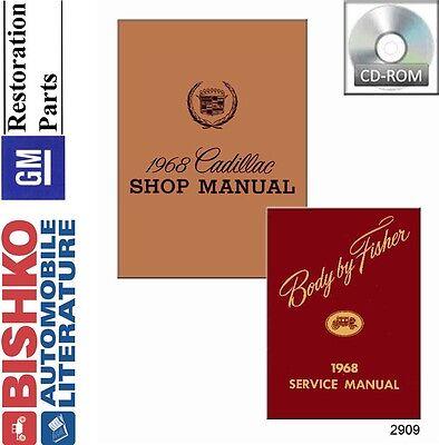1967 Cadillac Service Shop Repair Manual Book Engine Drivetrain Electrical Guide