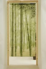 JAPANESE Noren Curtain BAMBOO MADE IN JAPAN NEW 85x170cm  LONG SIZE