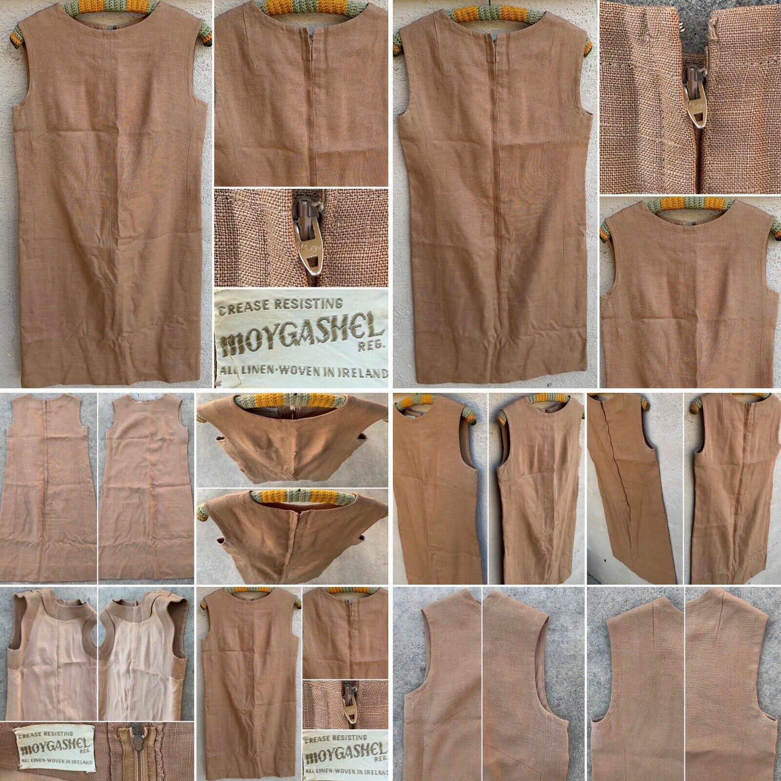 Vintage Crease Resisting MOYGASHEL Reg. Dress All… - image 3