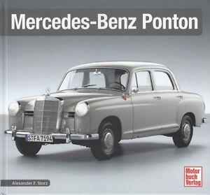 Typenchronik-Mercedes-Benz-Ponton-170-180-190-220-Modelle-Geschichte-Typen-Buch