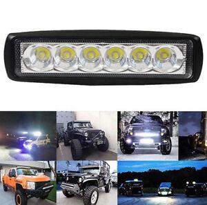 18W-800LM-White-Light-Spot-6LED-Work-Bar-Driving-Fog-Off-Road-Truck-Car-Lamp