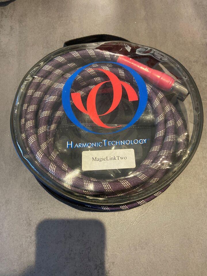 High end kabler, Harmonic Tech, MagicLink II