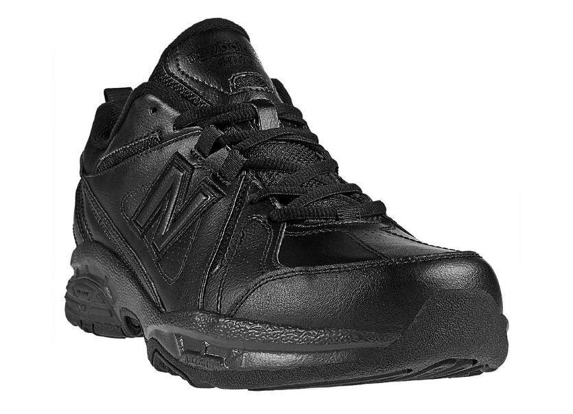 Männer new balance mx608v3b (4e) walking schuh schwarz schwarz schwarz 05d7d4