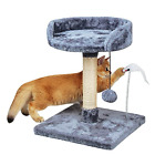 LittleBean Small Cat Tree with Scratching Posts Kitten Cat Tower for Indoor Cats