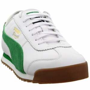 Puma-Roma-68-Og-Lace-Up-Mens-Sneakers-Shoes-Casual-White
