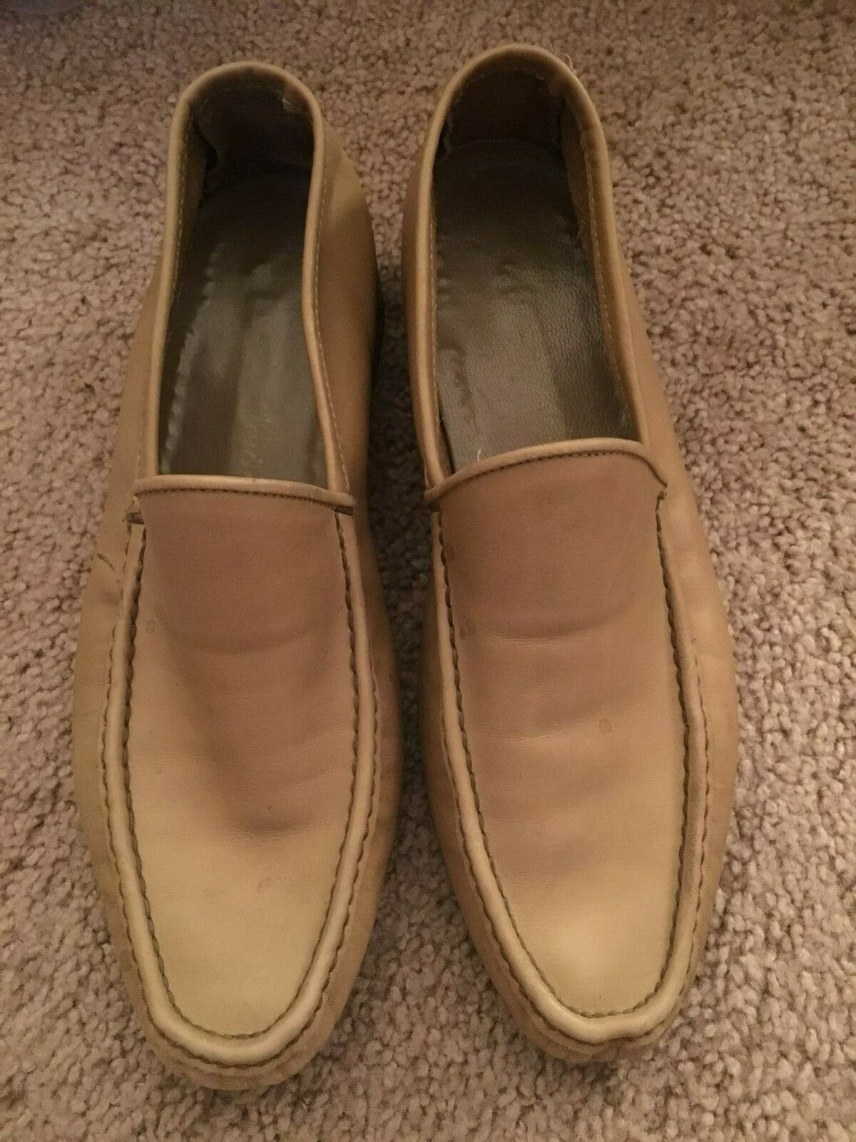Mens DIor Mustard Loafers - Size 8.5