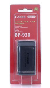 Canon BP-930 7.2V 3000mAh Batterie D'origine pour Camescope (Réf#L-080)