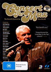 Concert-For-Max-Merritt-DVD-3-Disc-Doug-Parkinson-Russell-Morris-Dinah-Lee-JPY