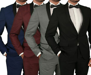 Slim-Fit-Mens-Tuxedo-in-Blue-Bordeaux-Grey-Black-Mens-Suit-Suit-Wedding