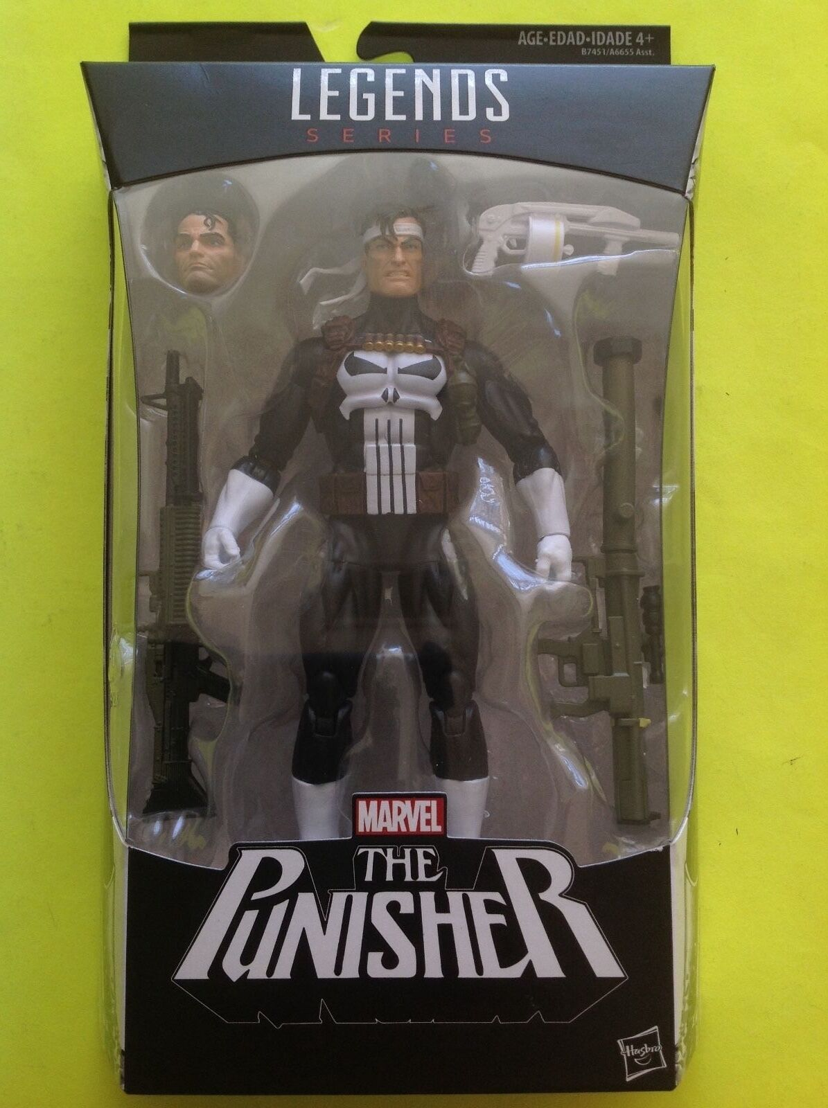 PUNISHER Hasbro Marvel Legends Walgreens exclusive IN HAND Brand New