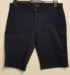 "MEN`S NEW WRANGLER CASUAL COTTON CHINO SHORTS 36/"" WAIST XL BLACK AUTHENTIC"