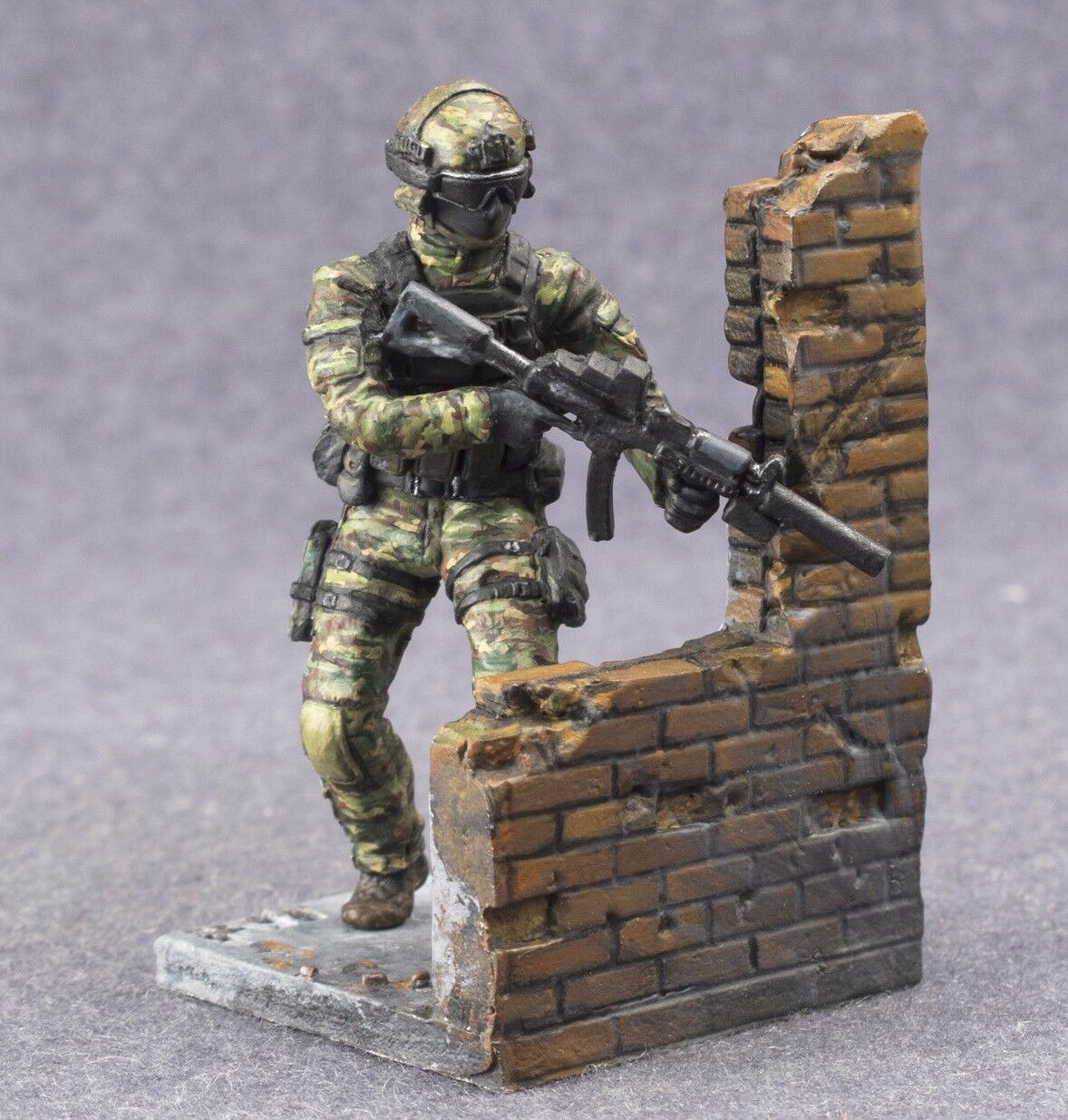 Toy Soldiers 54mm Modern Warrior Special Forces Commando 1 32 Hand Painted