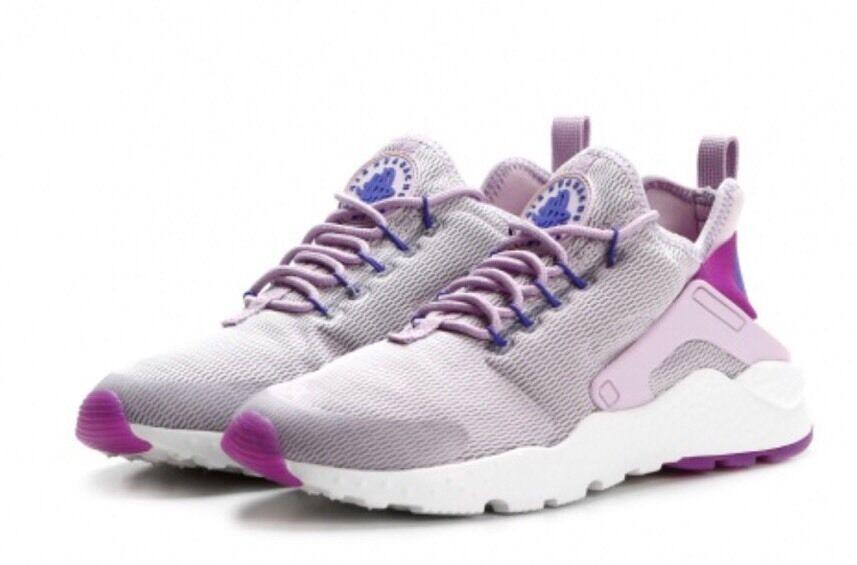 Nike di donne huarache correre ultra imbianchita lilla iper - violet purple 819151 501