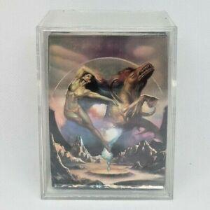 1996 BORIS WITH JULIE ALL CHROMIUM COMPLETE BASE CARD 90 SET FANTASY ART!