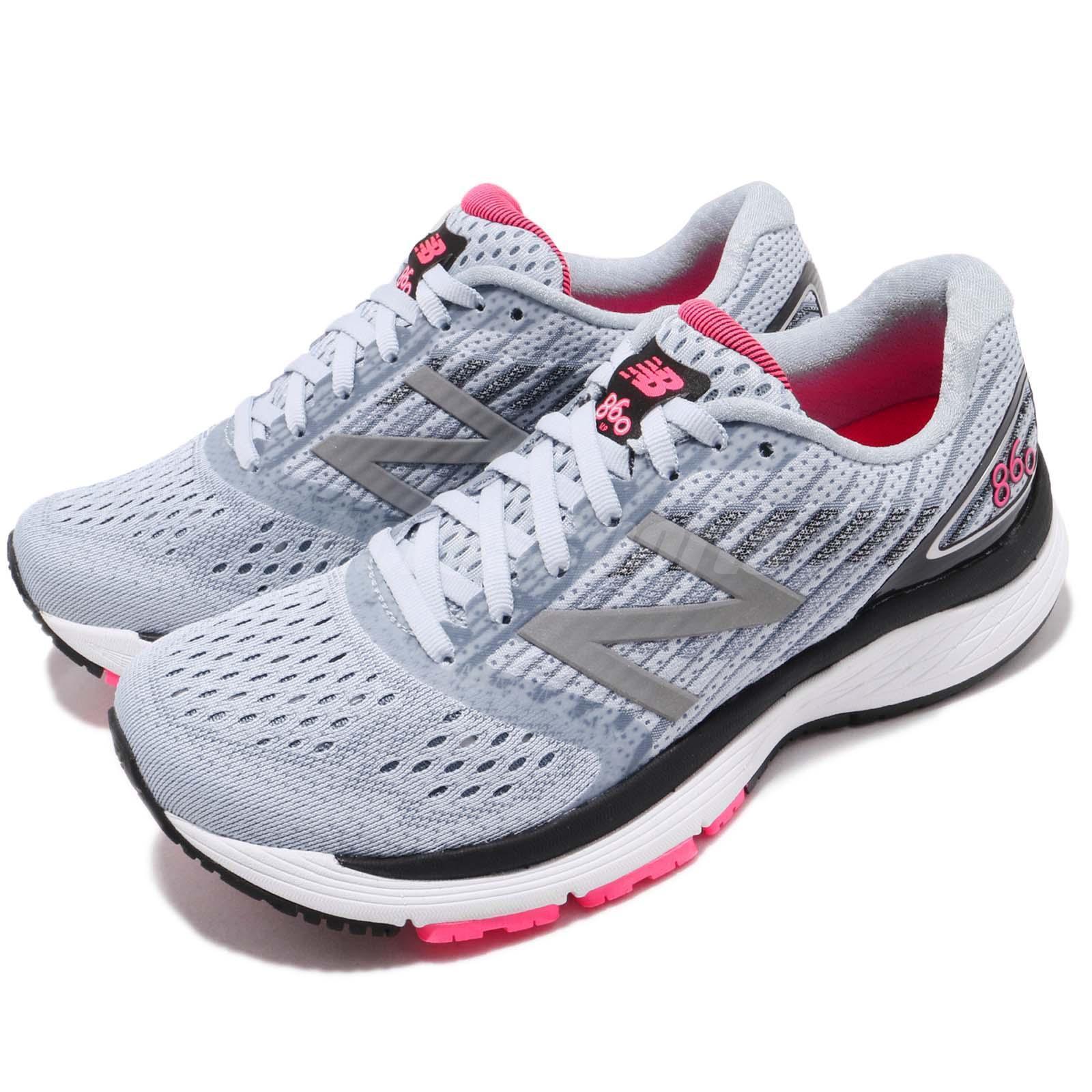 New Balance W860BP9 D Wide bleu rose  noir  femmes  Running  Chaussures  Sneakers W860BP9D