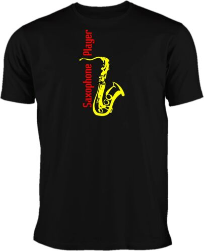 Saxophone Player T-Shirt Saxofon T-Shirt # Motiv 3