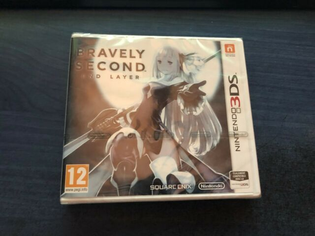 Bravely second End Layer nintendo 3DS DS NEUF SOUS BLISTER FRANÇAIS