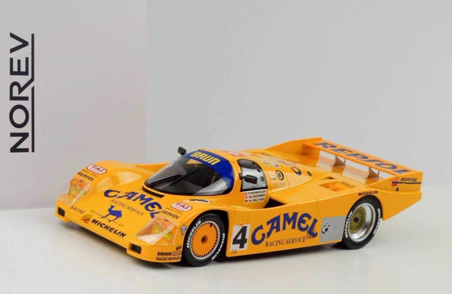 1988 Porsche 962C h Le Mans Hunkeler Lechner Reuter 1 18 Norev
