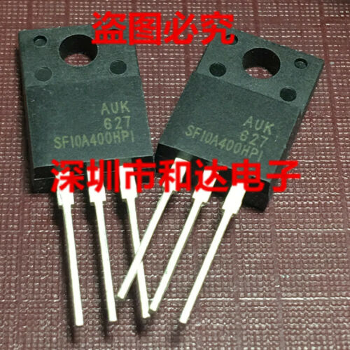 10 x SF10A400HPI ULTRAFAST DUAL RECTIFIERS TO-220F 400V 10A