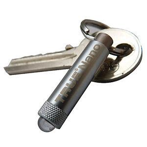True Utility TU285 NanoLite mini Key Ring LED Torch Flashlight 100% Original