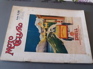 RARA-RIVISTA-MOTOCICLISMO-N-9-1-MARZO-1930-SHELL-PUBBLICITA-039-FIAT-509