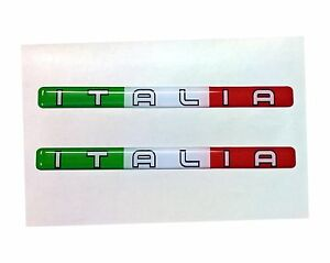 3D-Domed-Italia-Flag-Stickers-Italy-Tricolore-for-Car-Motorcycle-Helmet-Laptop