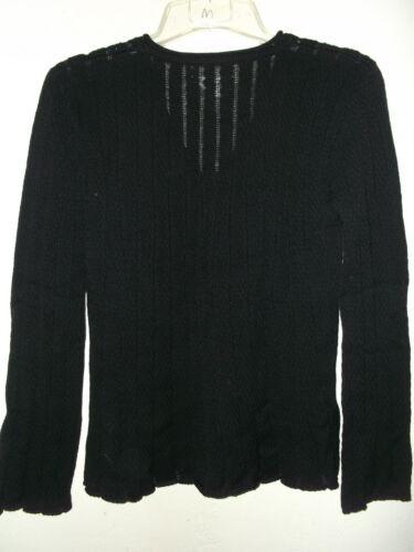 M Ribbed S Nwt Cotton Pima Sweater 138 Short L Sz Lin Sort Pullover Wide m 1IzwqPI