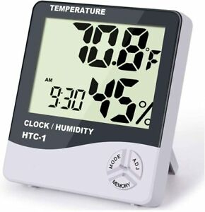 Digital Thermometer Indoor Hygrometer Room Thermometers and Humidity Gauge