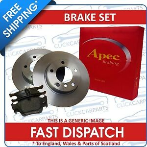 Ford-Ka-2000-2008-Front-Brake-Discs-And-Pads-1-3-Vented