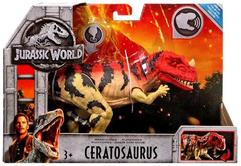 Jurassic World Fallen Kingdom Roarivores Ceratosaurus Action Figure