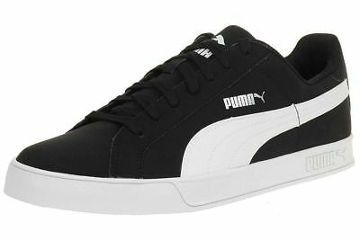Scarpe da uomo Puma Smash Vulc 359622 14 nero bianco