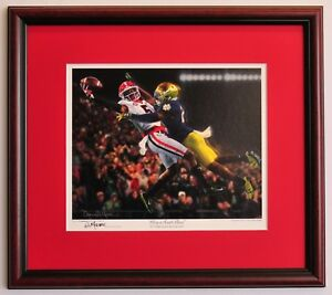 Georgia-Bulldogs-Football-Framed-Print-Glory-in-South-Bend-by-Daniel-Moore