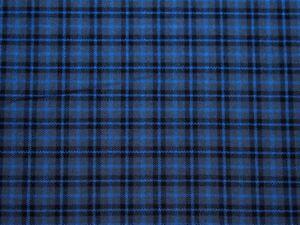 Tartan-82-M Poly Viscose Tartan Suiting Dress Fabric