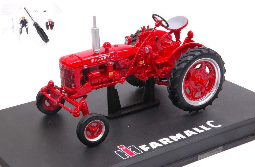 FARMALL C With Plastic Kit Row Crop Trattore Tractor 1 32 Model REPLICAGRI