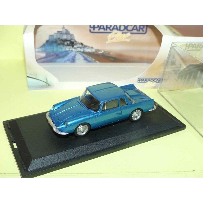 RENAULT ALPINE GT4 2+2 blue PARADCAR 72 1 43