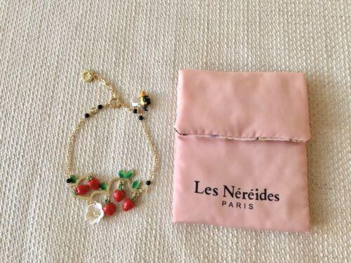 Les Nereides N2  MON POTAGER ET MOI STRAWBERRIES BEE AND DAISY BRACELET