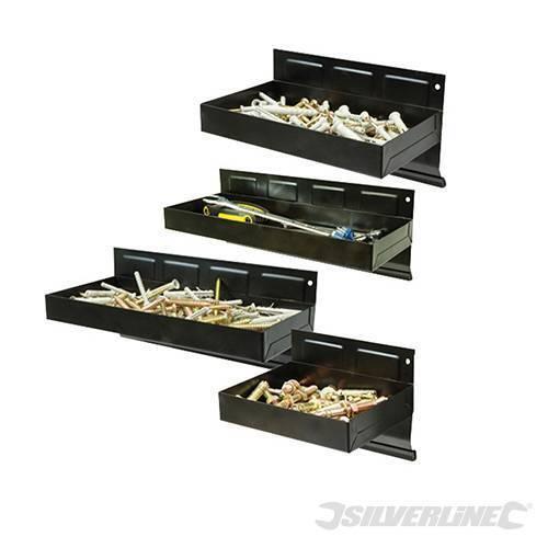 magnético Bandeja de herramientas Set 4 piezas 150-310mm Acero alto rendimiento