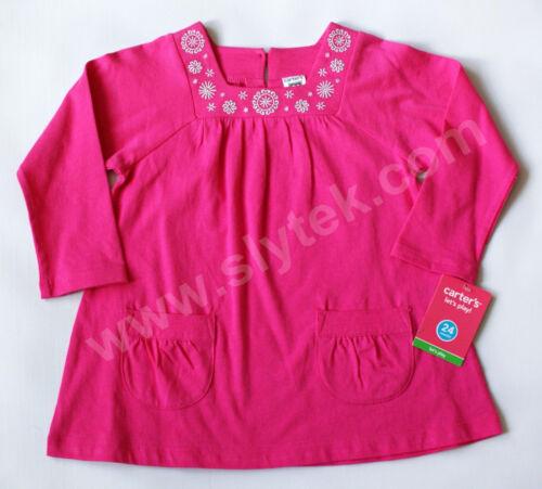 NWT Girls Top Tee Shirt Bodysuit NEW 6 12m 18m 2t 3t 4 Carters Oshkosh Christmas