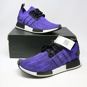 newest e404f 12554 Details about adidas NMD R1 PK Primeknit Energy Ink Purple Running Shoes sz  10 B37627 Boost