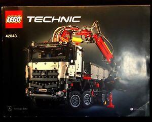 Lego 42043 Mercedes Benz Arocs 3245 Instructions Book Only Ebay