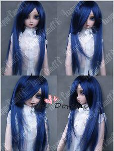 1 3 8-9 Bjd Wig Dal Pullip BJD SD DOD DOC LUTS Dollfie Doll wigs short BLUE