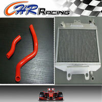 Aluminum Radiator + Hose For Honda Cr250r Cr250 1997 1998 1999 97 98 99