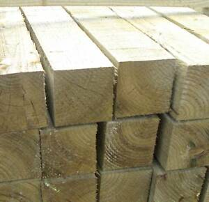 Pressure-Treated-3m-x-100mm-x100-mmTimber-Fence-Post