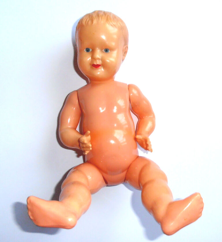 1950s USSR Russian Soviet OHK CELLULOID CELLULOID CELLULOID Large Size Toy Doll BABY BOY 0e49b7