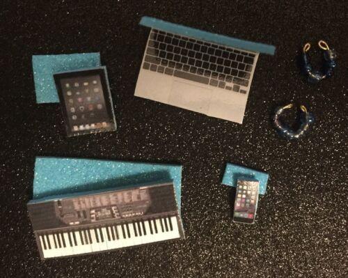 LPS LIGHT BLUE Lot of Phone Collar /& Tablet+BONUS Accessories Keyboard Laptop