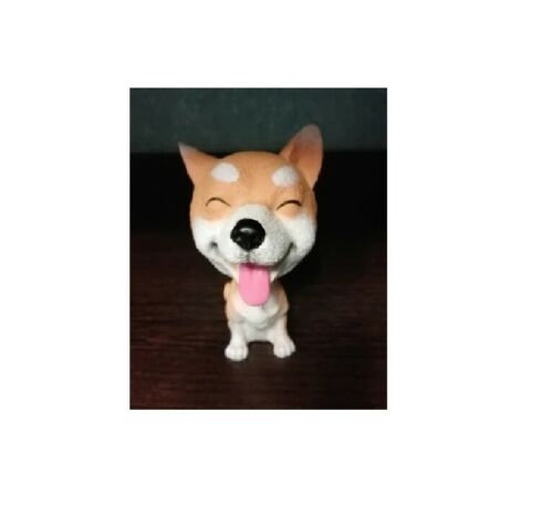 Shaking Head Toys Nodding Dog Funny Cute Bobblehead Puppy Dolls Swing Car Decor